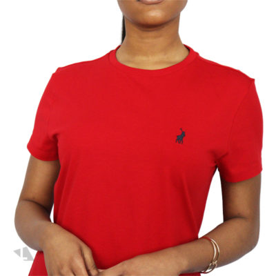 Polo Allie Tee Red